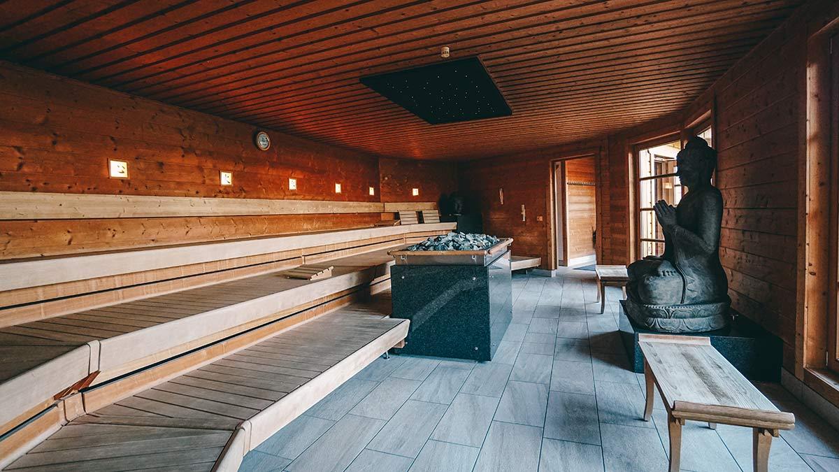 Saunabereich der Obermain Therme im Haus der Stille
