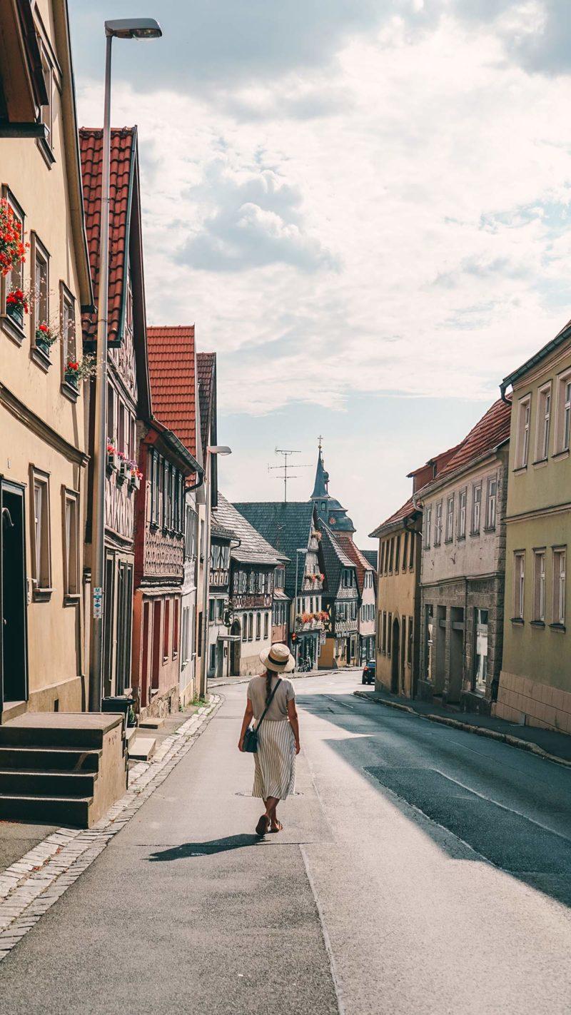 Spaziergang durch die Altstadt Bad Staffelstein