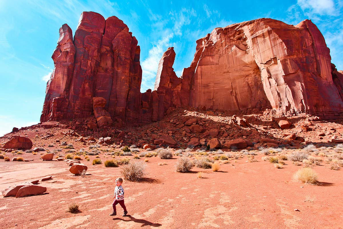 Tipps fuers Monument Valley 17 Mile Loop