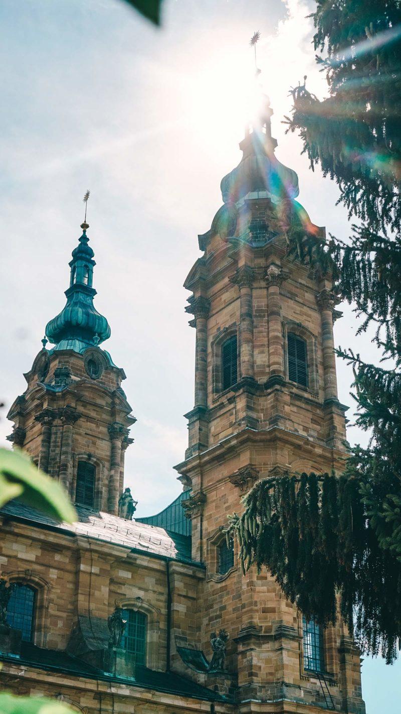 Tuerme der Basilika Vierzehnheiligen