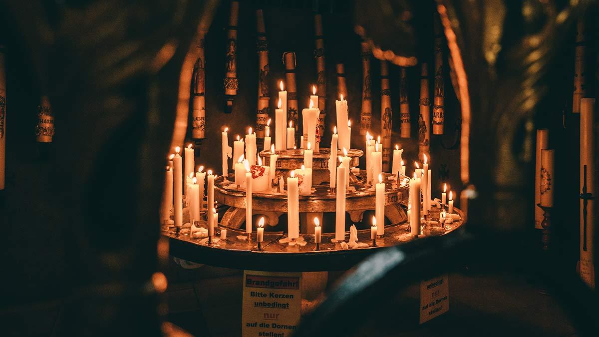 Vierzehnheiligen Gedenkkerzen