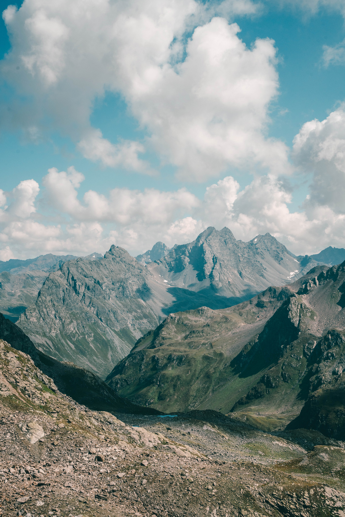 Berggipfel Graubünden