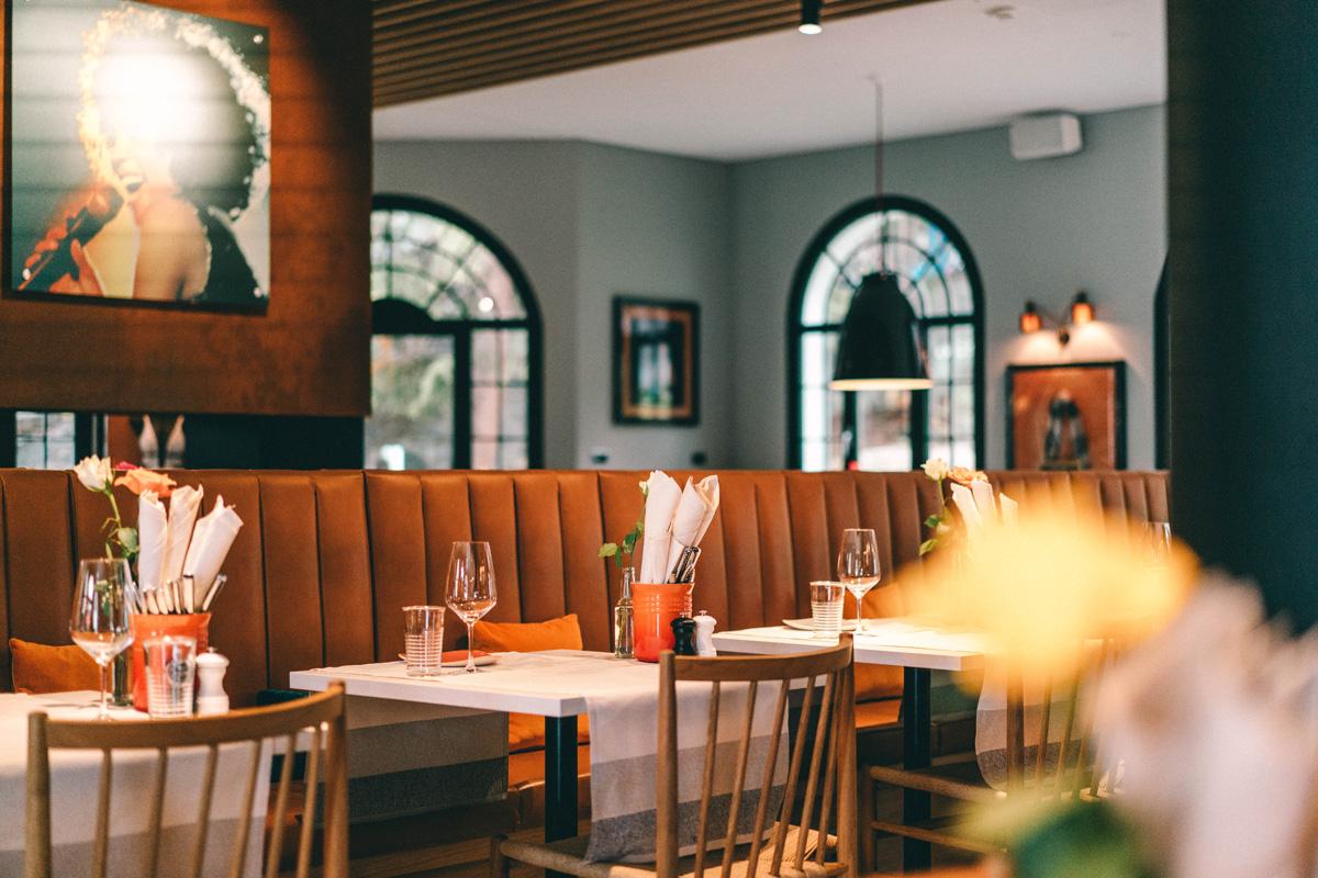 Restaurant des Hard Rock Hotel Davos
