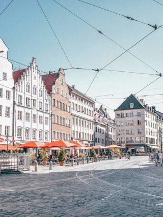 Innenstadt von Augsburg