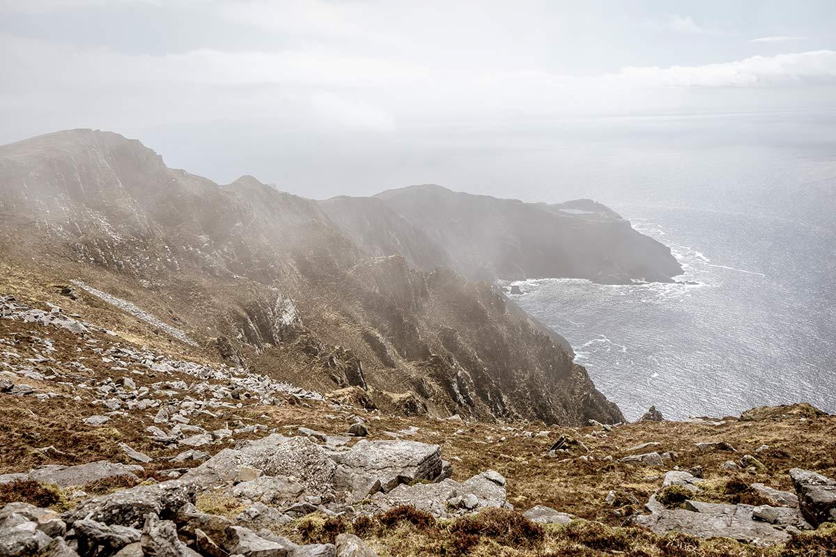 Irland Donegal Slieve Leage Klippen