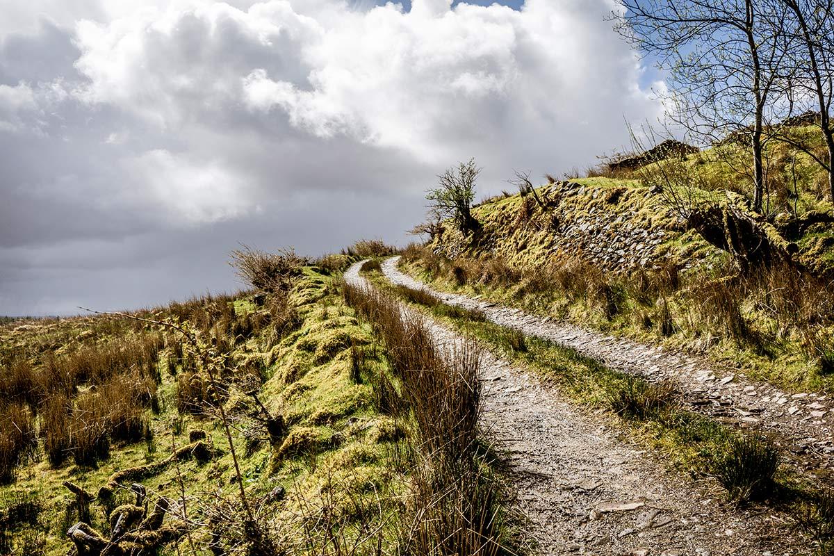 Irland Donegal Wegverlauf