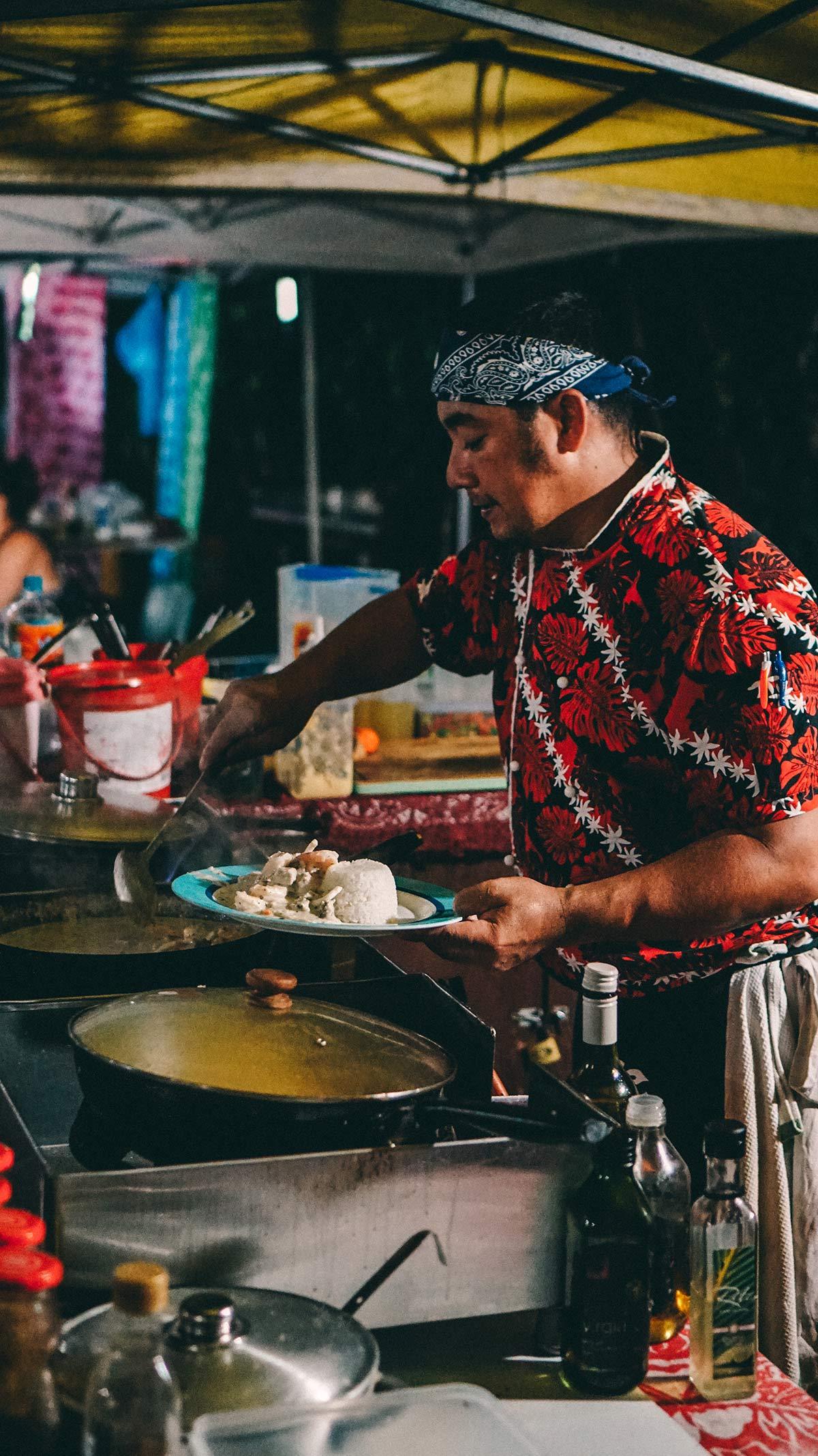 Kulinarische Vielfalt auf dem Muri Night Market