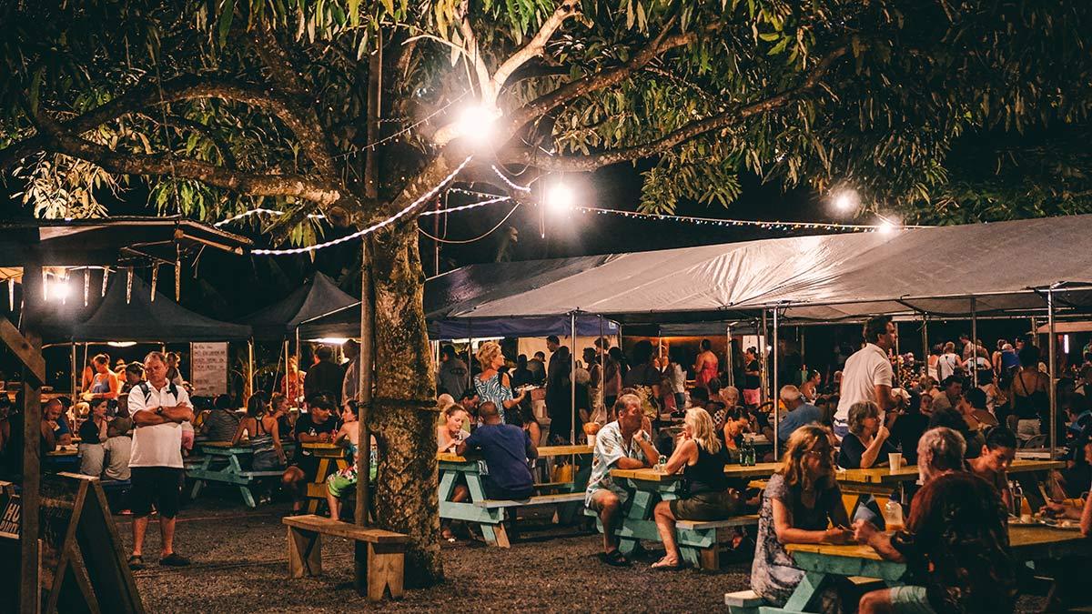 Muri Night Market Platz