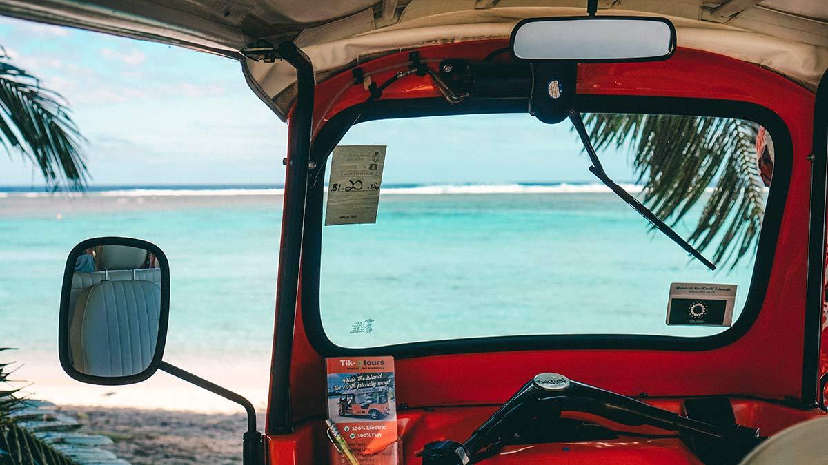 Tik E Tour zum Aroa Beach