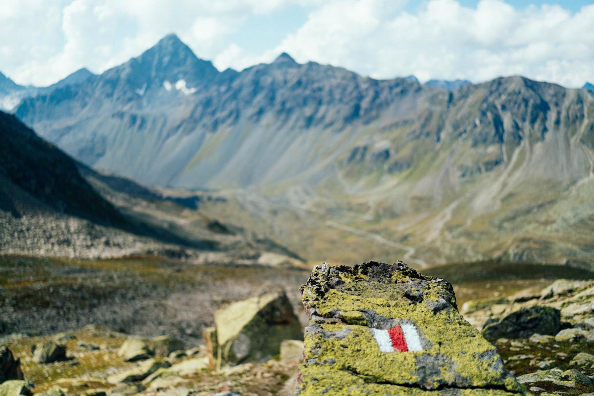 Wandermarkierung Schweiz