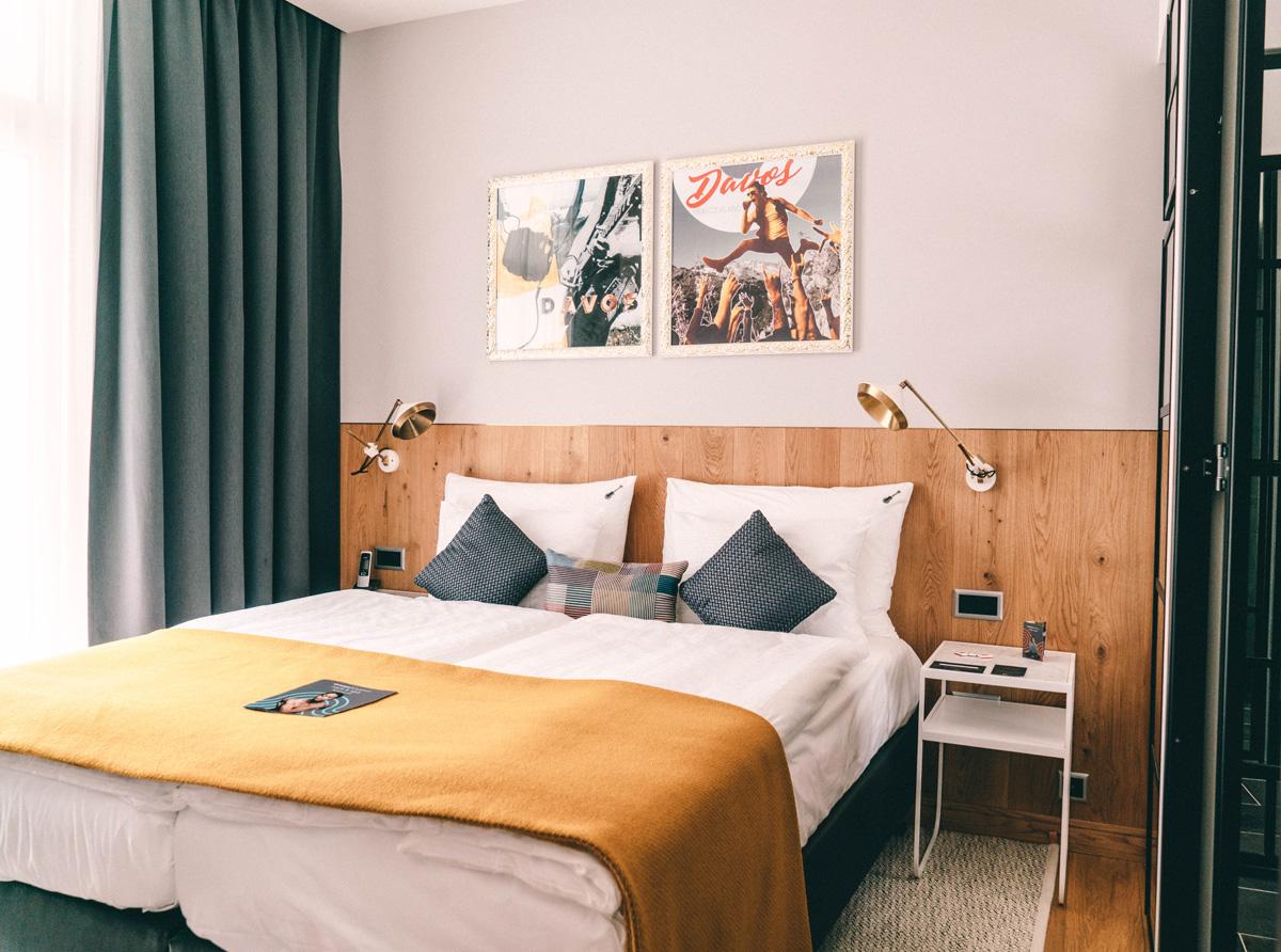Zimmer im Hard Rock Hotel Davos