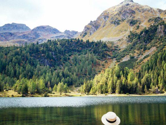 Aussicht Berge Duisitzkarsees