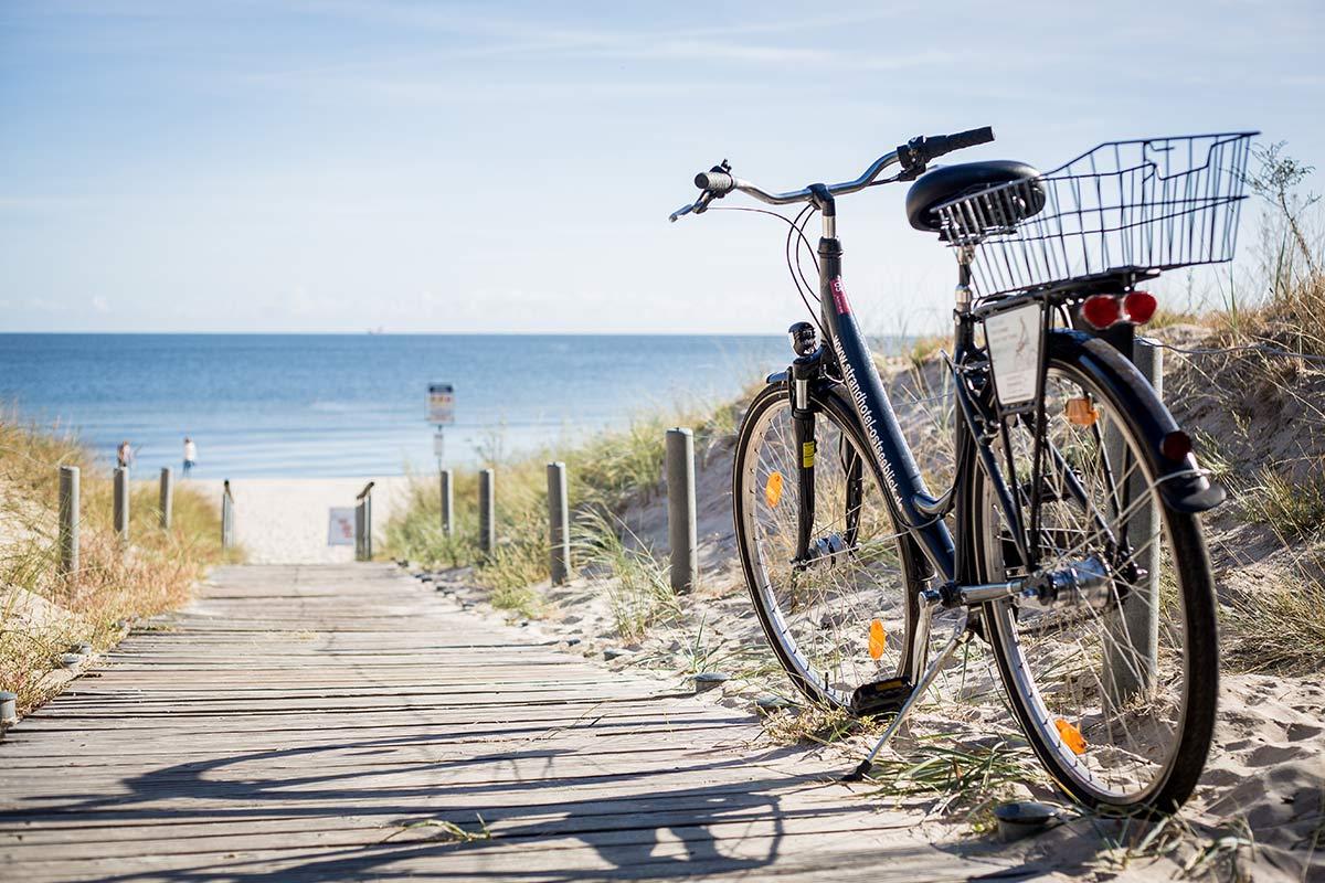 Fahrradtour nach Swindemuende