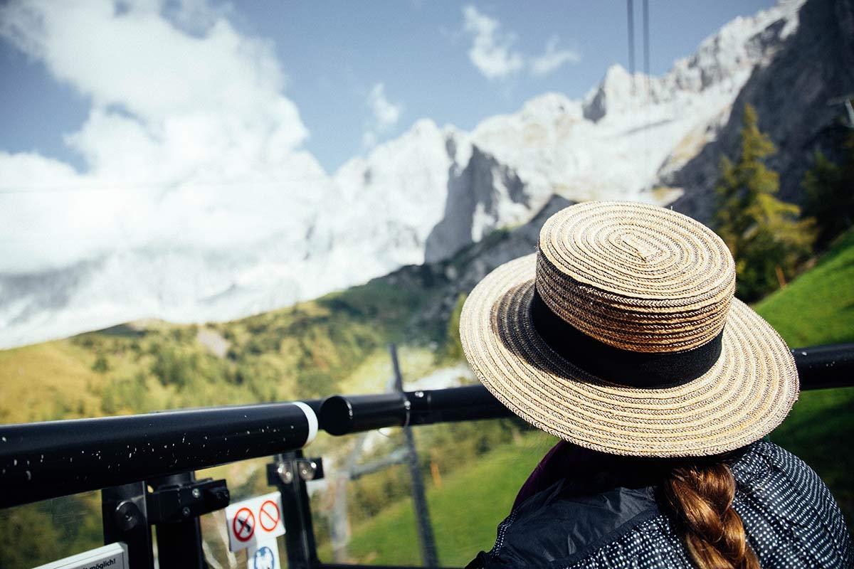 Fahrt mit der Panoramagondel