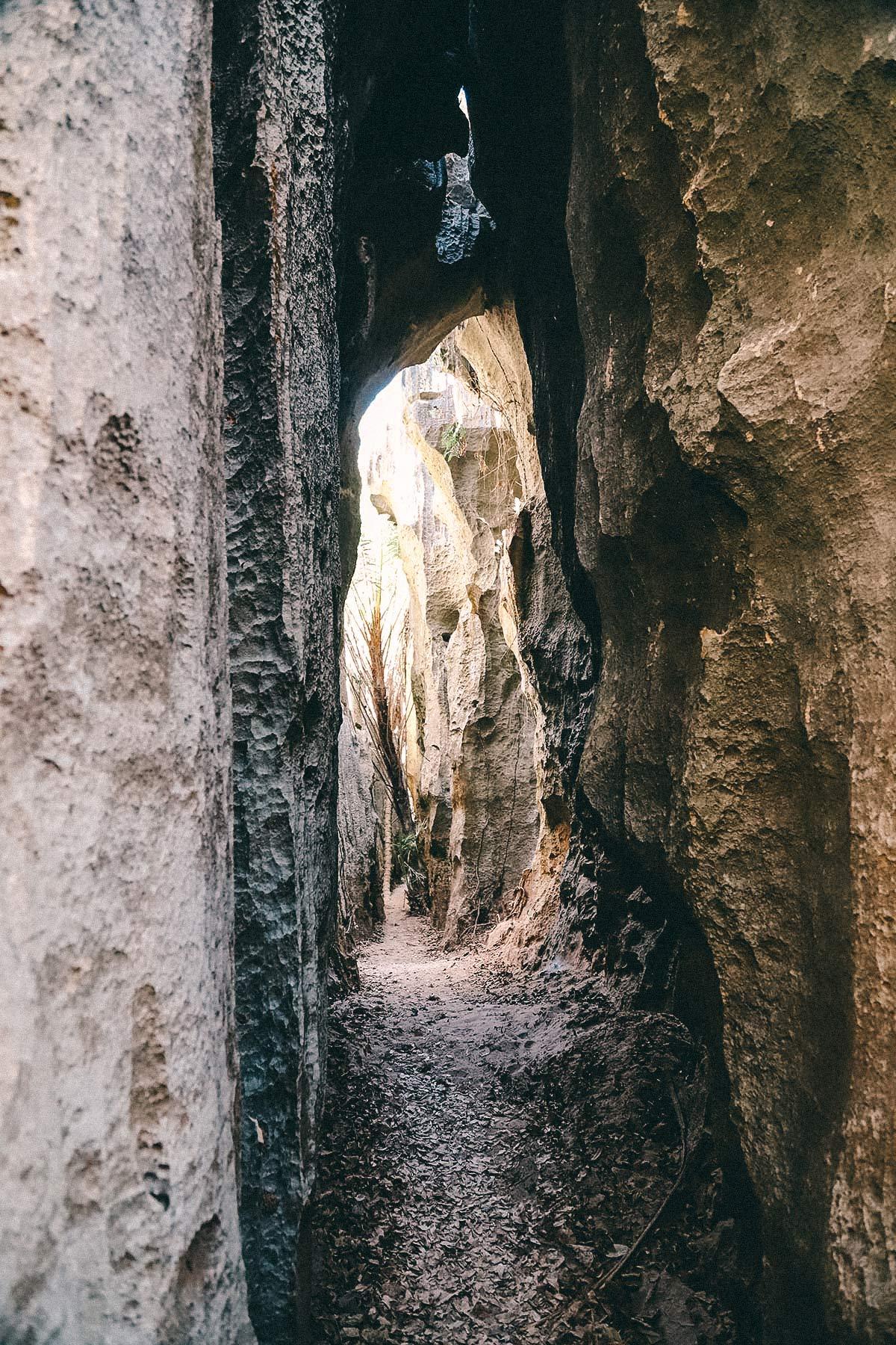 Höhlen im Tsingy Nationalpark