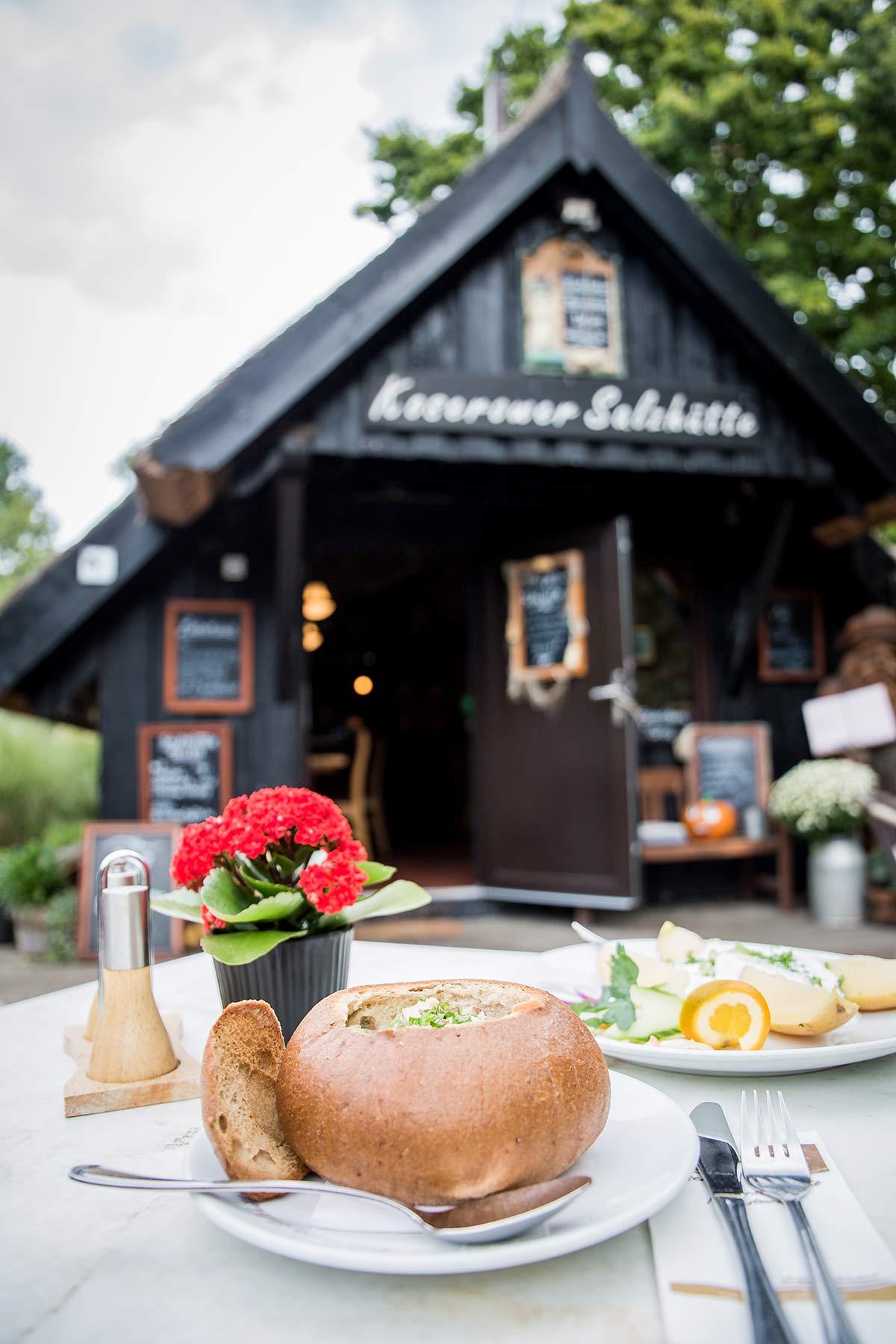 Koserower Salzhuetten auf Usedom