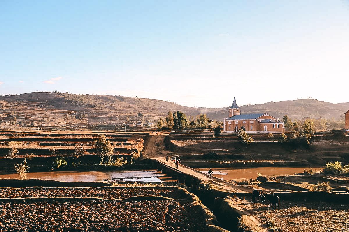 Landschaft Madagaskars