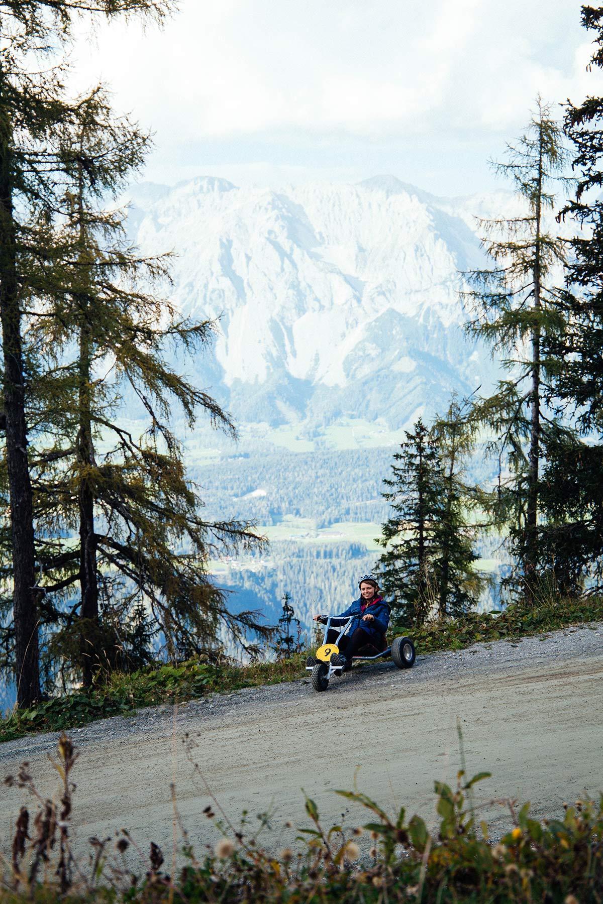 Mountain Go Kart fahren