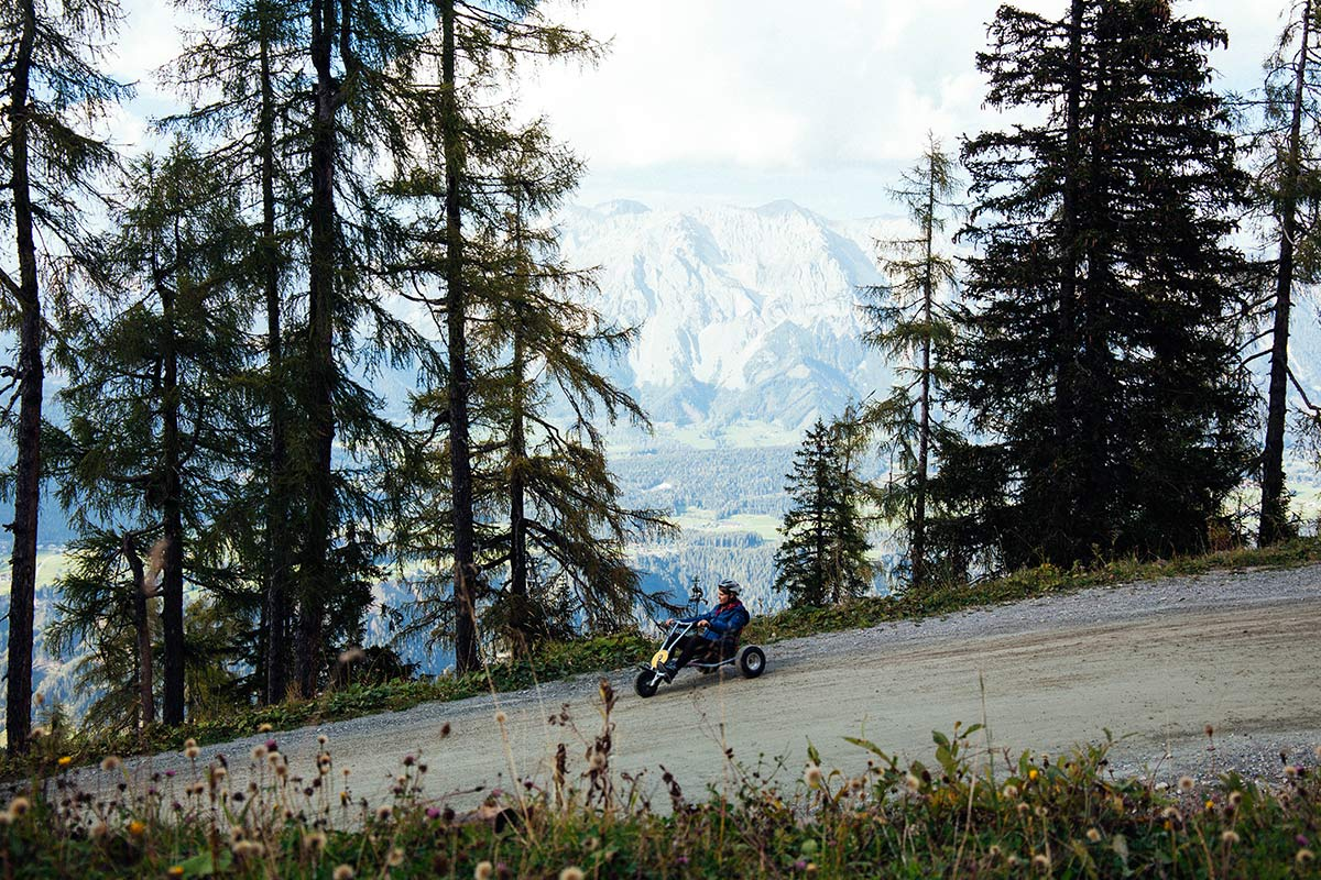Mountain Go Kart in Schladming