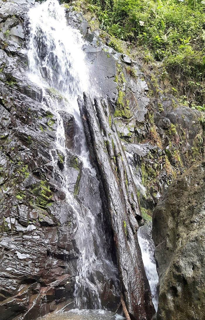 Valle de Anton Wasserfall
