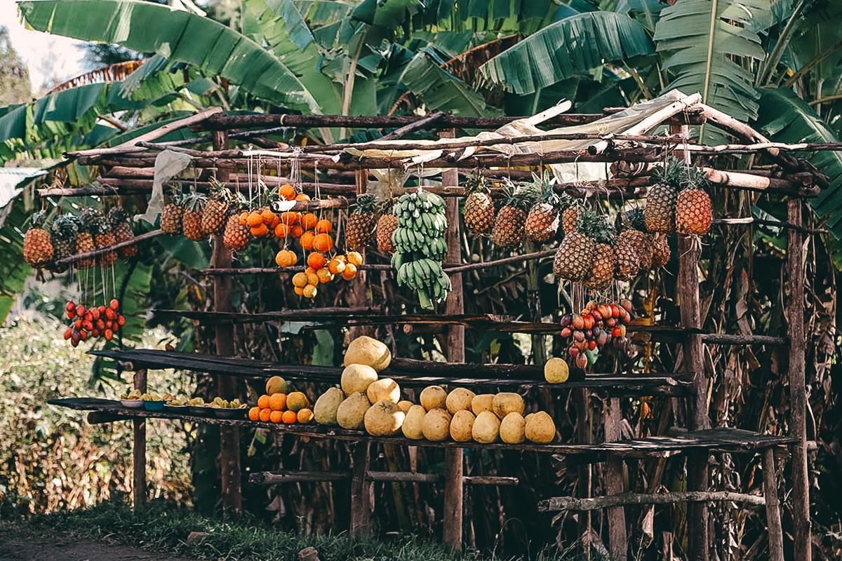 Verkaufsstand in Madagaskar