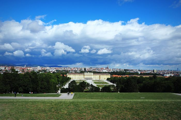 Ausblick Schloss Schönbrunn