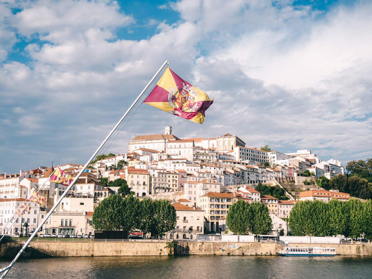 Aussicht Coimbra