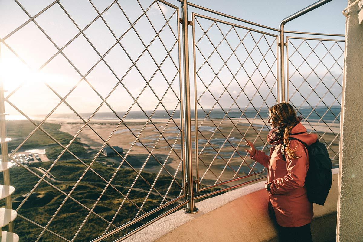Aussicht Leuchturm Texel
