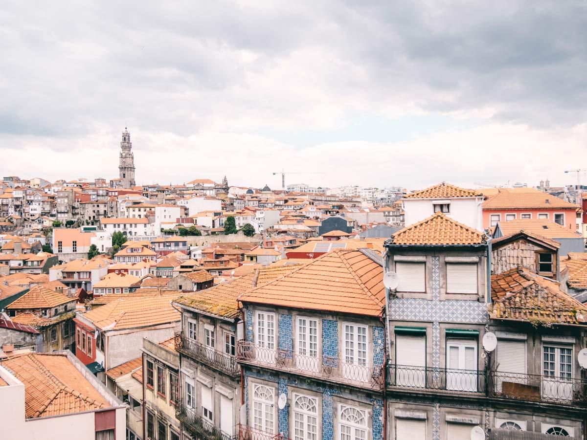 Blick ueber Porto