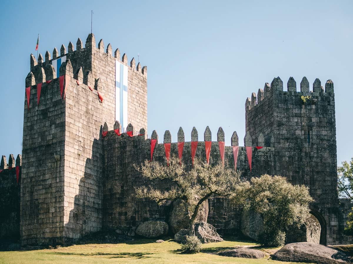 Burg in Guimaraes