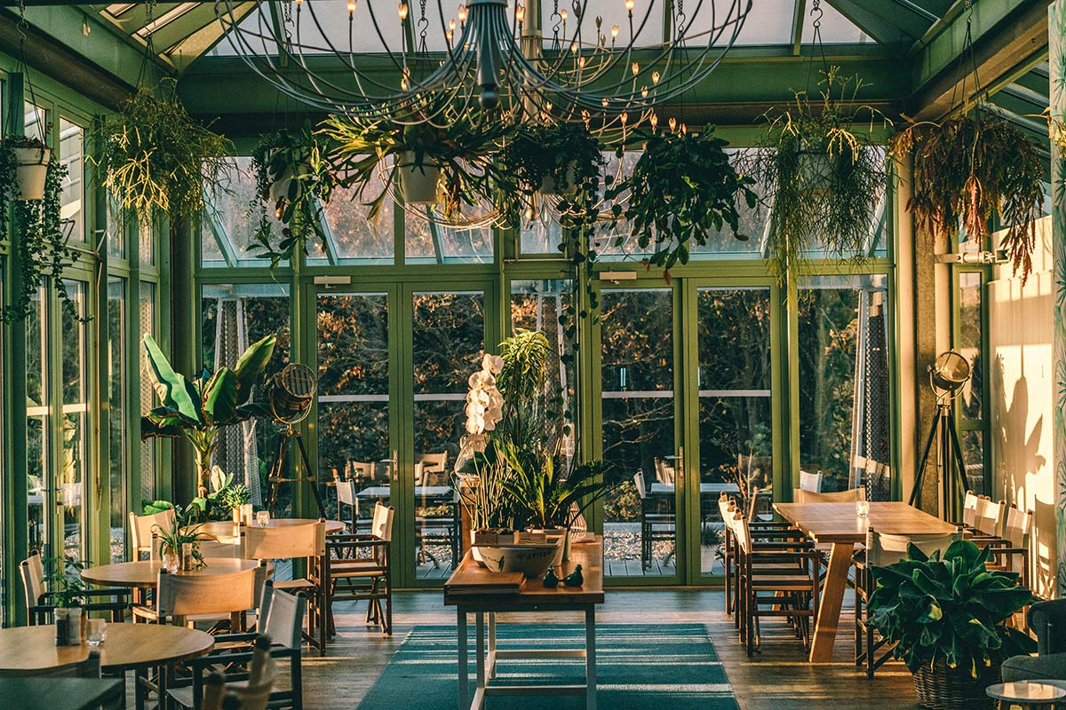 Grand Hotel Opduin Wintergarten