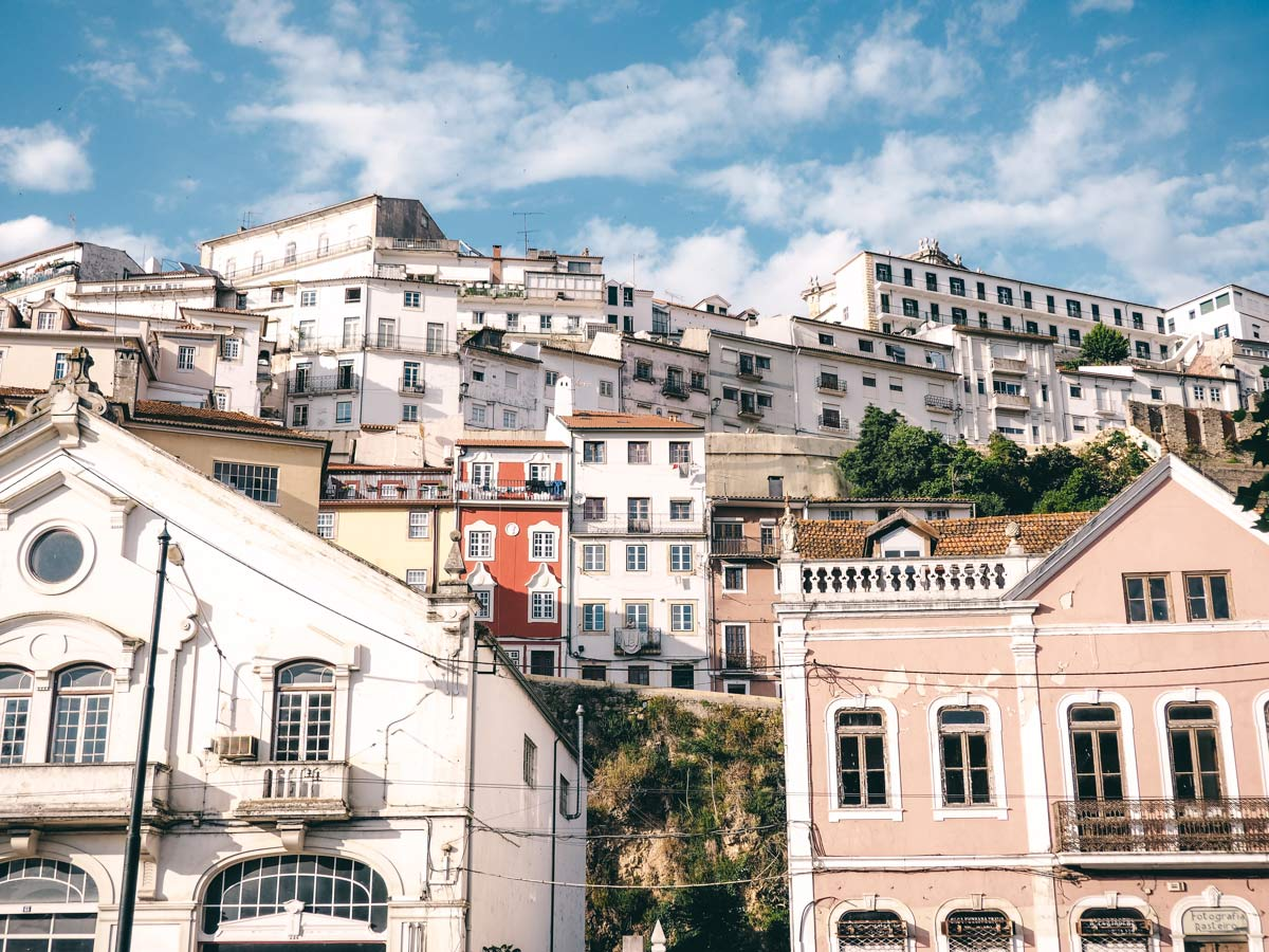 Haeuser in Coimbra
