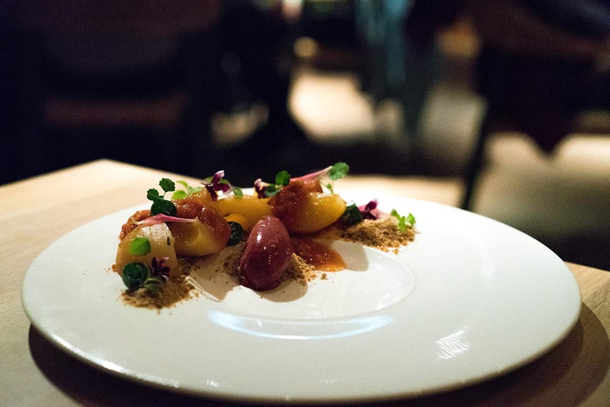 Nachtisch im Restaurant Gastropaviljoen XV