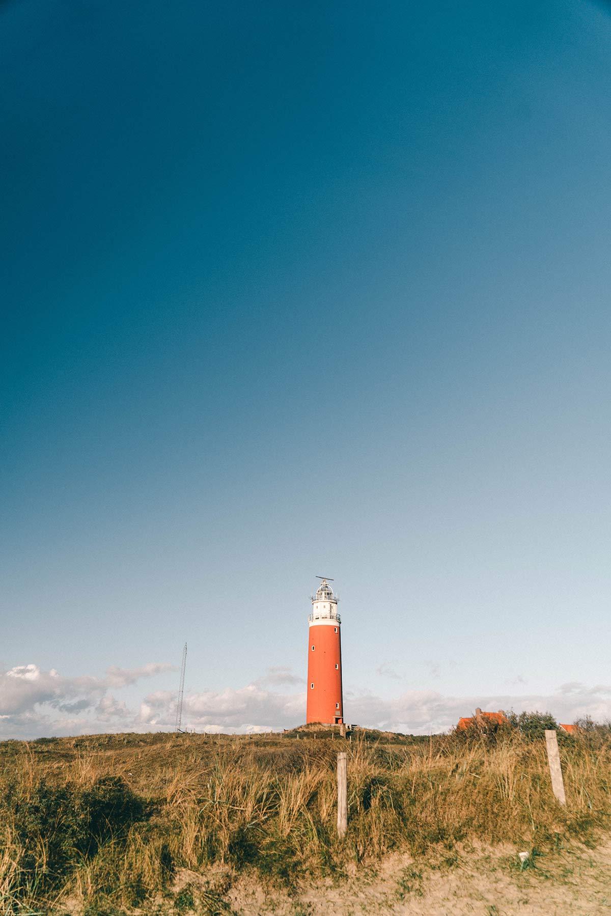 Niederlande Leuchtturm Texel