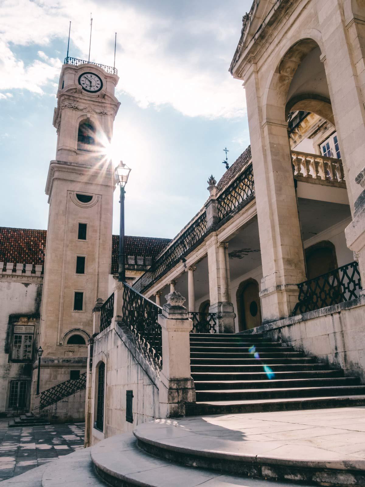 Sehenswuerdigkeiten in Coimbra