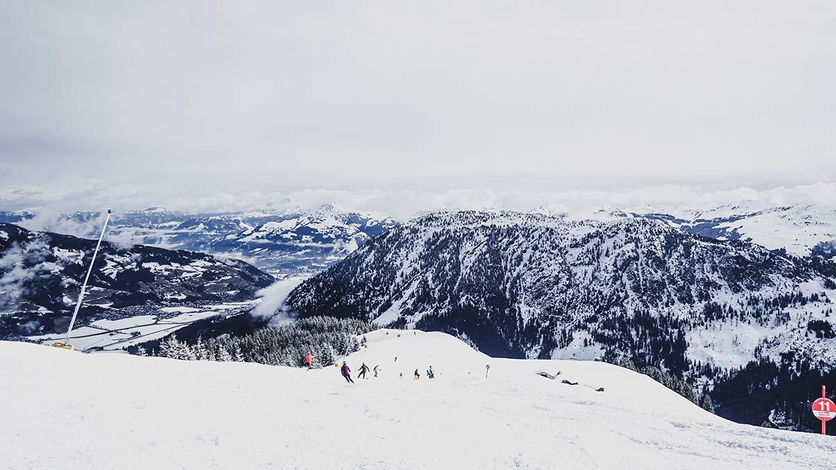 Ski Piste Wilder Kaiser Brixenthal