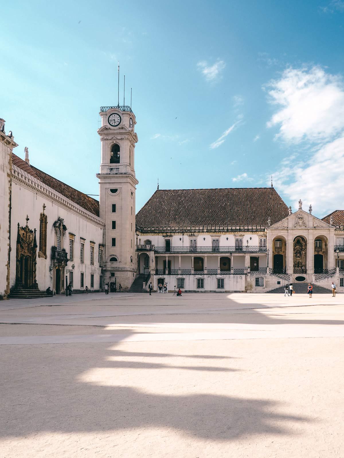 Universitaetsplatz Coimbra