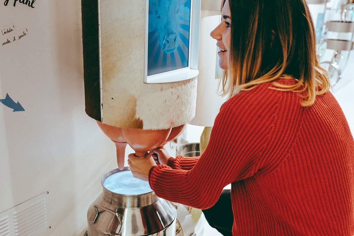 Maestrani's Chocolarium interaktiv