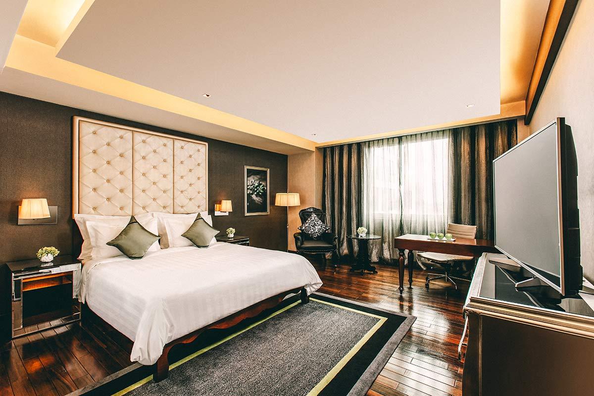 Mein schoenes Zimmer im Moevenpick Hotel Hanoi