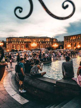 Platz der Republik Jerewan Sehenswuerdigkeiten
