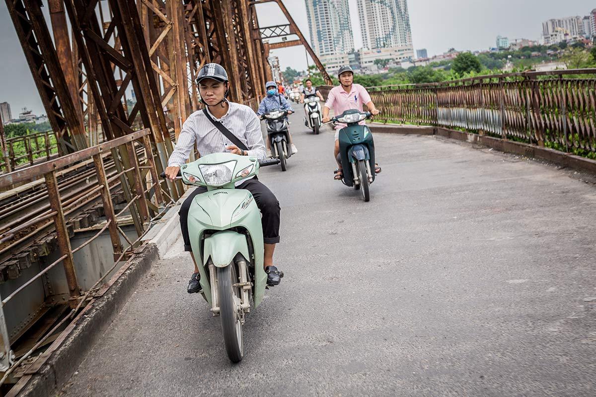 Roller in Hanoi