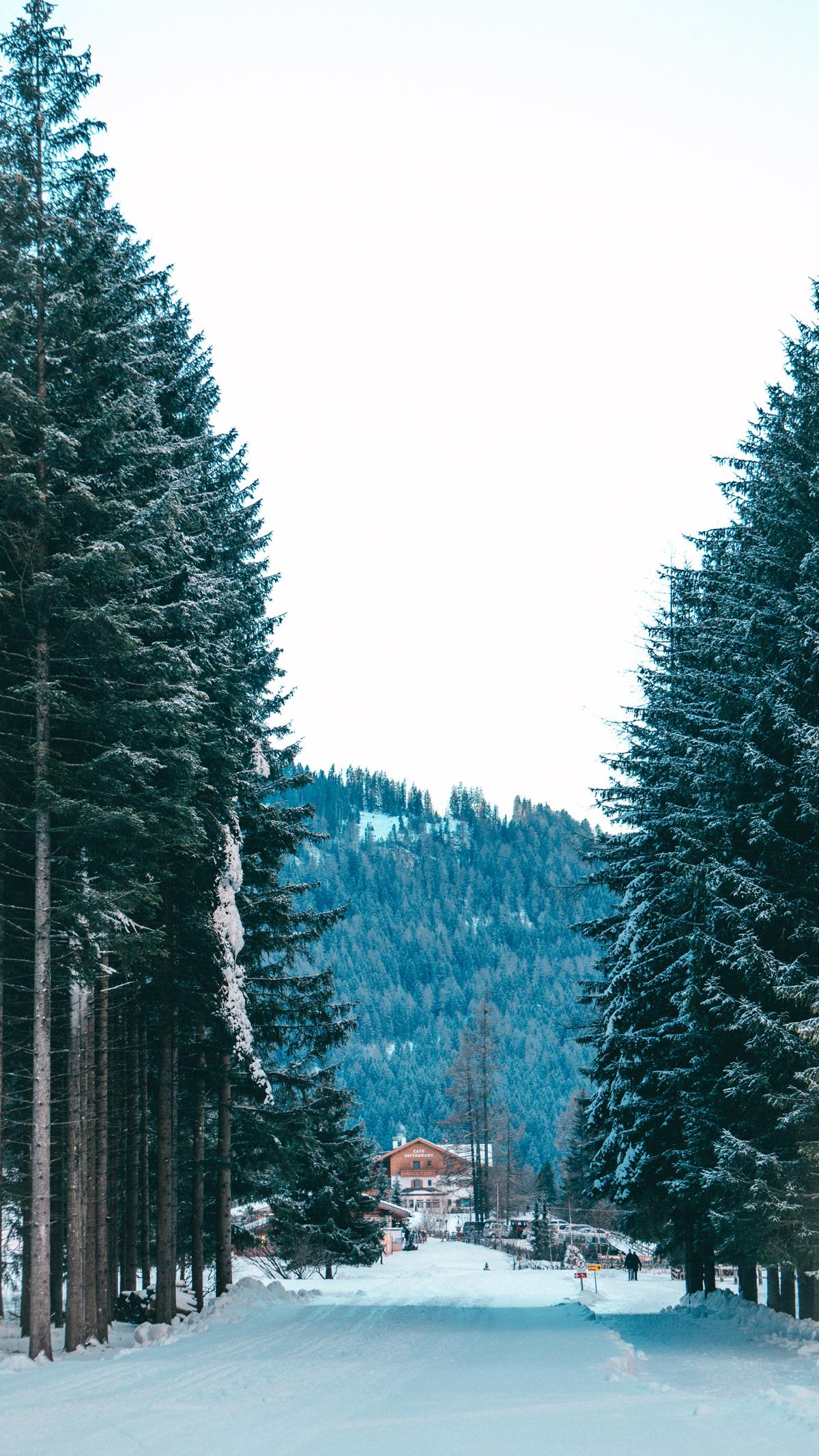 Alta-Badia-Langenthal-Schneeschuh