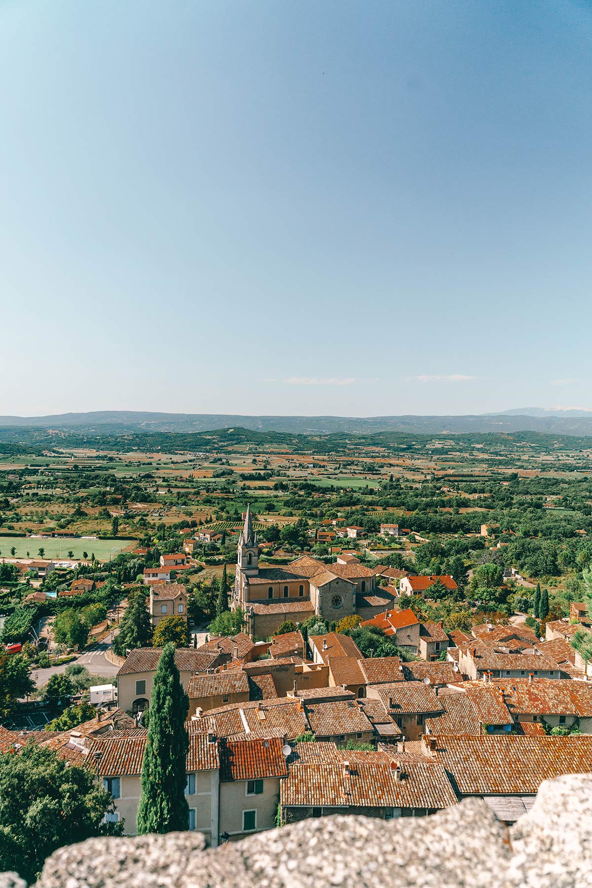 Bonnieux in Frankreich