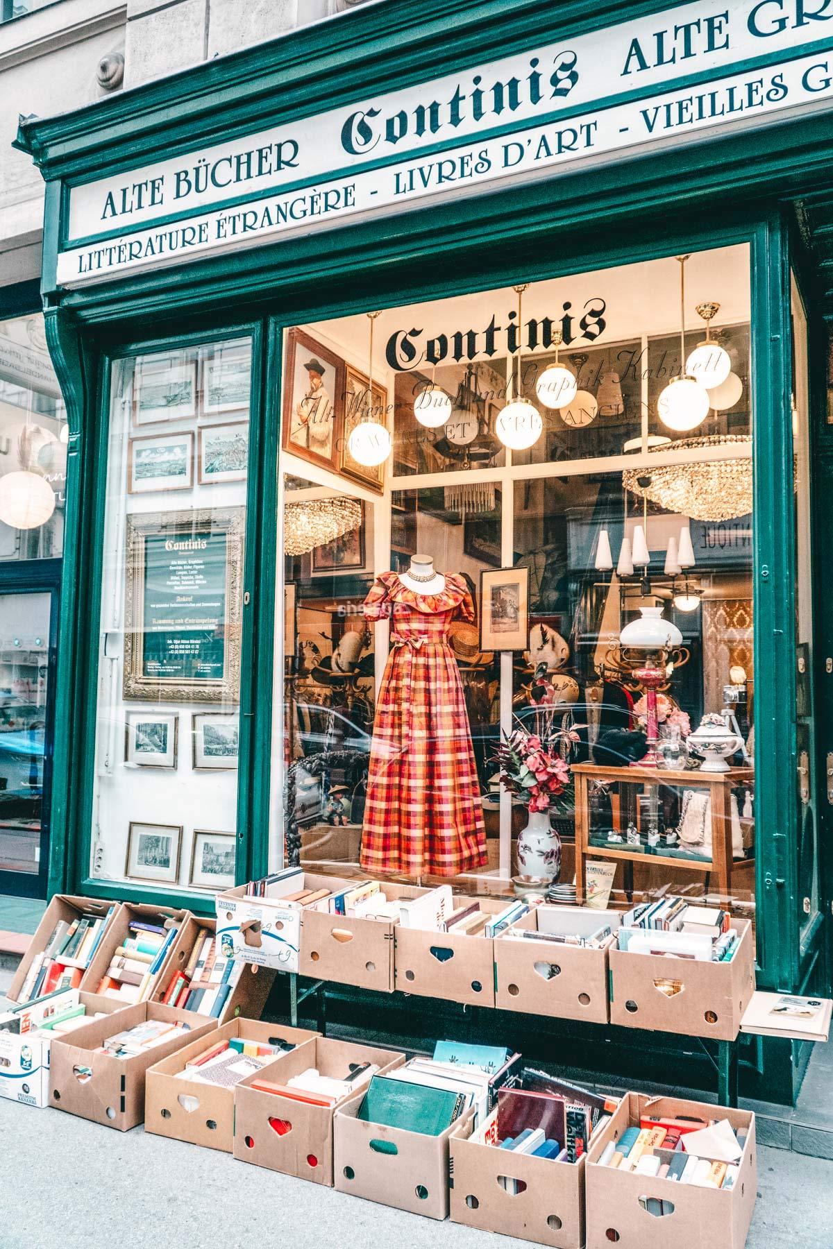 Buchladen in Wien
