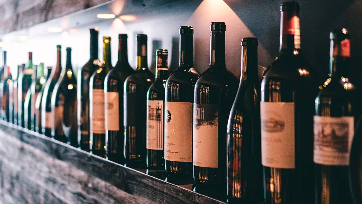 Das Hotel Marent Weinflaschen