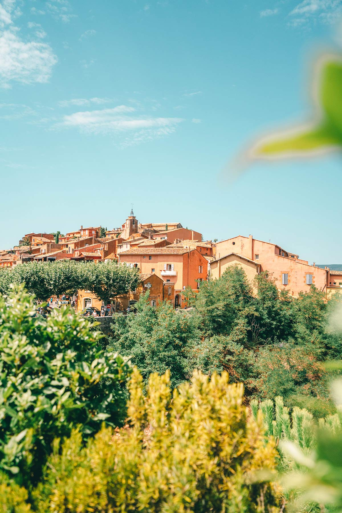 die rote Stadt Roussillon