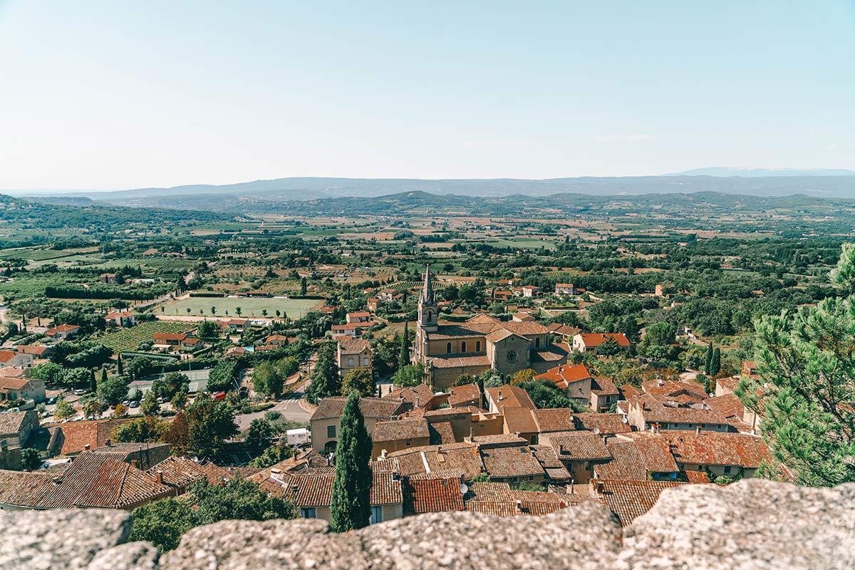 Dorf Bonnieux Frankreich