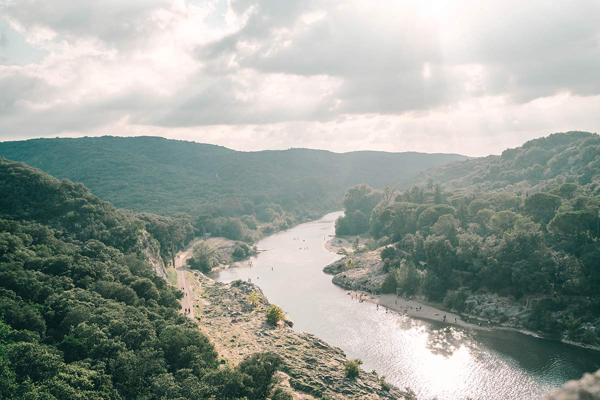 Fluss Frankreich