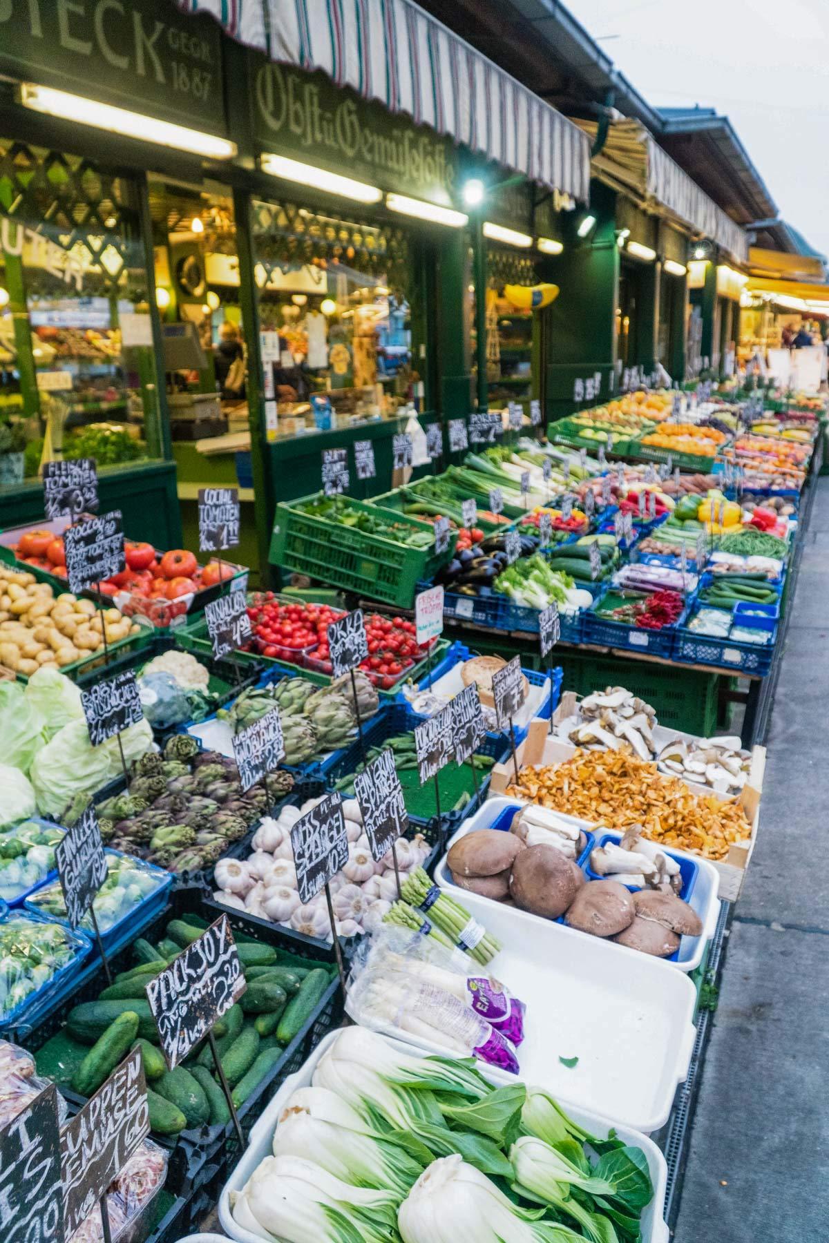 Gemuese Markt Wien