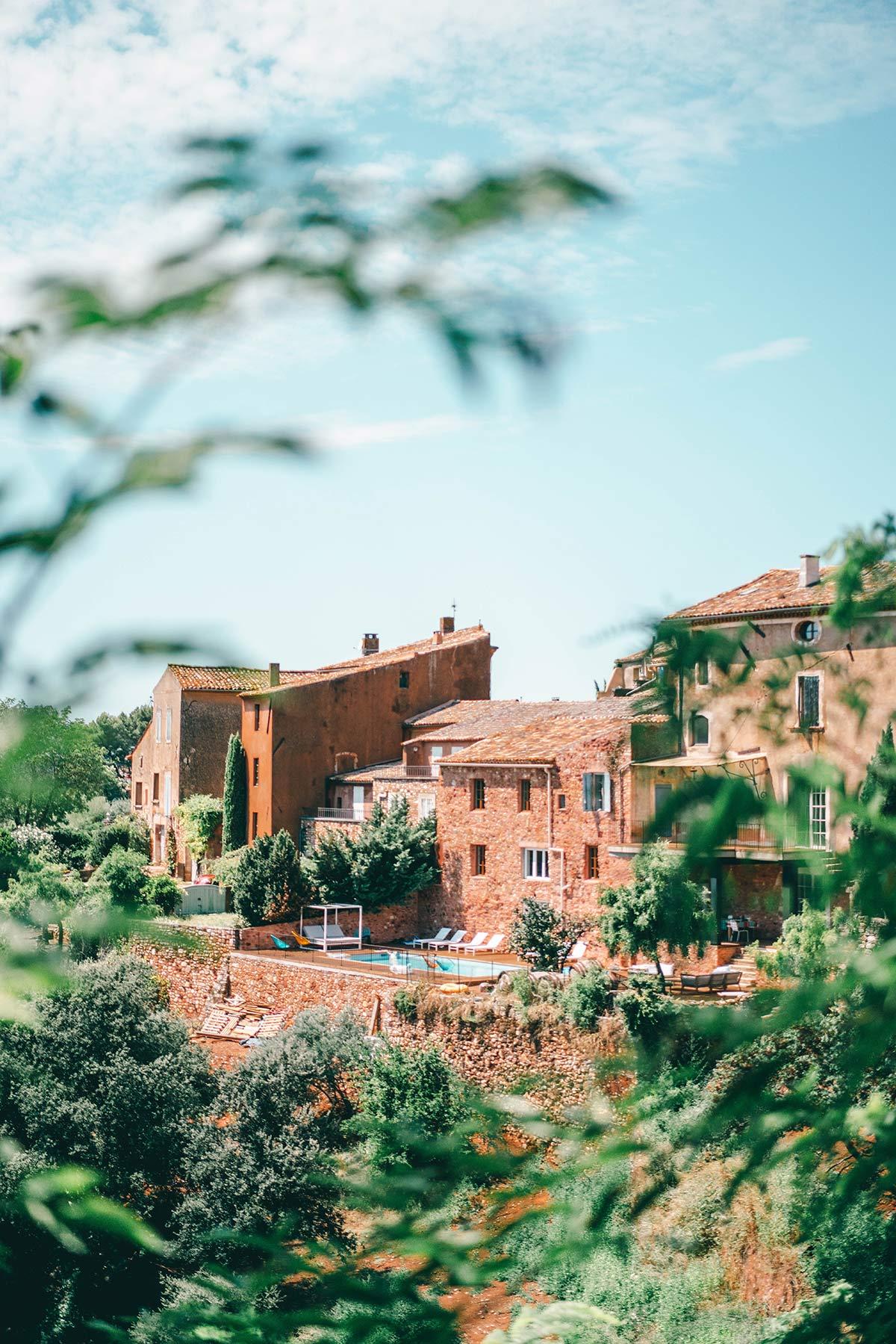 Haeuser Roussillon